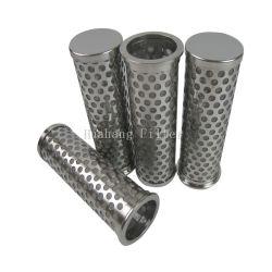 2.5Mm de 3mm, 4mm, trou de 5 mm panier perforé en acier inoxydable cylindre métallique du filtre à tuyau perforé
