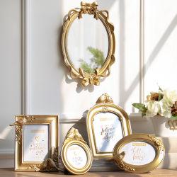 Los marcos de fotos de cerámica en forma personalizada