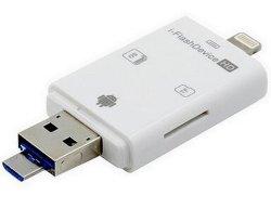Apple Ios 인조 인간 USB 섬광 드라이브를 위한 메모리 카드를 가진 OTG 카드 판독기