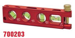 O alumínio eletricista profissional Nível Torpedo (700203)