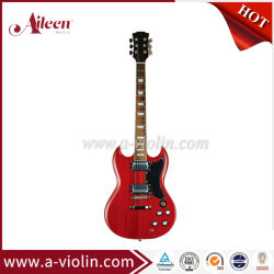 Sg様式の石のエレキギターの卸売(EGR240)