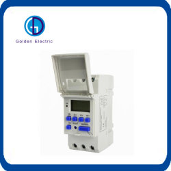 Thc15 Programáveis LCD Digital AC220V 25A Relé de tempo do temporizador