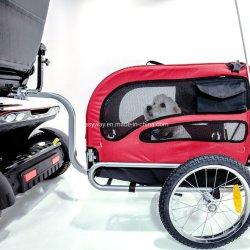 Rimorchio bello dell'animale domestico della bicicletta con la rotella dell'acciaio di alta qualità