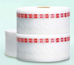 140 mm Winkel- des Leistungshebelsbiodegradierbares Mais-Ineinander greifen-Teebeutel-Rollen-, konnten Pyramide-Form-Teebeutel, mit anpassen Marke und Zeichenketten, 6000PCS/Roll bilden