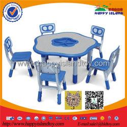 2017 Nouvelle conception de haute qualité Meubles de salle de classe Table en plastique pour enfants