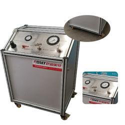 가스 누설 테스트를 위한 고압 가스 승압기 펌프 시스템