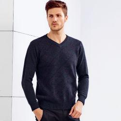 2019 новых мужчин чистого кашемира свитер, трикотажные Pullover в горловину оптовая торговля