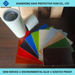 25-50 미크론 문 피부를 위한 좋은 접합 PE 공간 접착성 플레스틱 필름 또는 Prelam 널 또는 가구