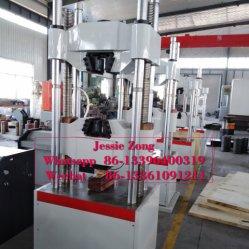 100T Bar en acier haute résistance à la traction/tige Servo électrohydraulique Universal Material Testing/équipement de la machine