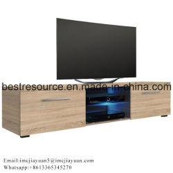 Moderne Houten LCD van de Lage Prijs van het Meubilair van de Eenheid van de Muur van TV Lijsten