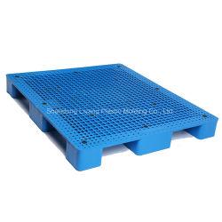 1400X1200mm HDPE 自動フォークリフトプラスチックパレット倉庫用グラウンドパレット