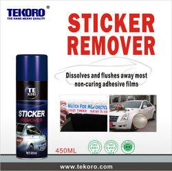 L'étiquette autocollant hors pulvérisation Remover, autocollant de voiture Remover, étiquette Remover, adhésif Remover