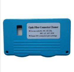 Conector de fibra óptica tipo casete limpiador para limpiar el conector de fibra