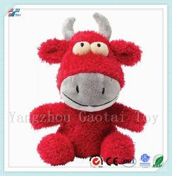 Nouveau design de jouets en peluche chien grinçants vache