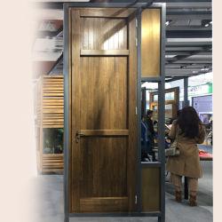 جيّدة سعر [مين دوور] خشبيّ تصميم 3 ألوان حديد يصمّم فيلم باب لأنّ منزل