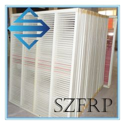 Valla de jardín de FRP, GRP Valla valla anticorrosivos de fibra de vidrio