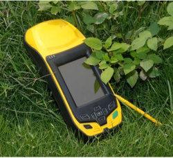 GPS portátil com tela Touh receptor GNSS para RTK Agrimensura Tempo Real GPS sem fio de alta precisão
