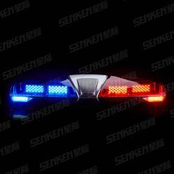 スピーカーの大型の長いライトバーとの鮫ヘッド赤くか青かこはく色または明確なLED/Halogen