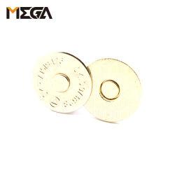 18mm Ultra-Thin botão magnético para sacos de couro