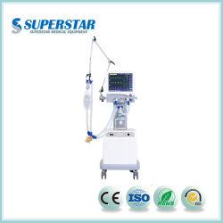 S1100B Hospital ventilateur Ventilateur médical de la machine Prix de la livraison rapide en usine pour USIN et ICU