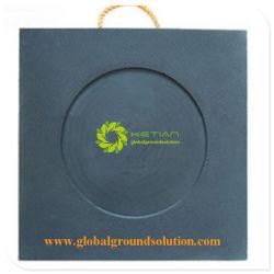 黒いColor/HDPEクレーンアウトリガー安定装置のパッドまたは価格のジャックのパッド卸し売りアウトリガー