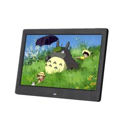 Foto-Bilderrahmen-blaues videokostenloses Download MP3 LCD-Digital