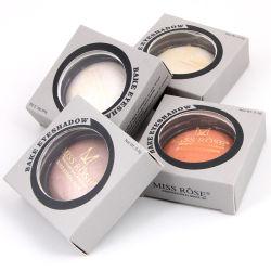 Couleur unique fard à paupières maquillage Poudre cuite au four 24 couleurs Shimmer Fard palette métallique étanche fard à paupières paillettes