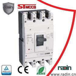 630A de regelbare Gevormde Stroomonderbreker Elektronische MCCB van het Geval