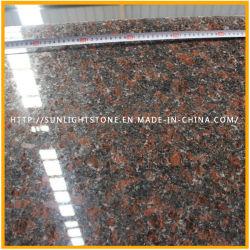 De bovenkant poetste Natuurlijk Tan Bruin/Engels Bruin Graniet voor Vloer op &Countertop
