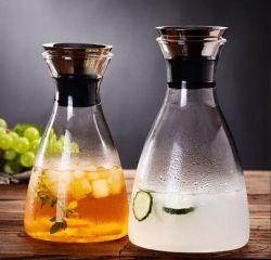 カスタマイズされたガラス水差しジュースのやかんの水差し