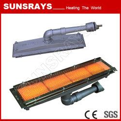 분말 코팅 (GR-1602)를 위한 가스 적외선 가열기
