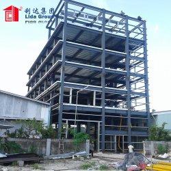 مبنى مرتفع من هيكل الصلب مسبق الصنع