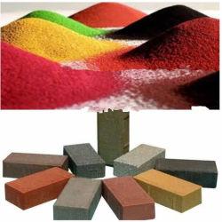 Rouge/jaune/noir/bleu/vert/orange/oxyde de fer brun