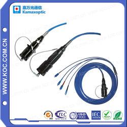 Alta Trituración Armored Cable Patch Cord-