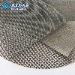 China Fornecedor 180 200 250 mícrons de malha de arame de aço inoxidável Peneiro para uso do filtro de tecidos de malha de aço inoxidável