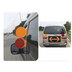 12 Luz de Aviso magnética de LED Veículo o tráfego de Segurança Rodoviária fachos de Piscar Luzes estroboscópicas de energia da bateria luz Barricade Estrada