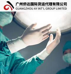 Single-Use médicaux chirurgicaux des gants en latex (stérile, poudre libre) avec la CE