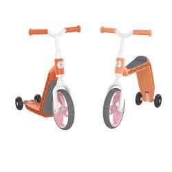 Material TPE de plástico de seguridad 2 en 1 Niño equilibrio Bike&Scooter