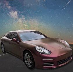 Клей для автомобиля декоративные виниловые наклейки золотой песок Блестящие цветные лаки упаковки пленки