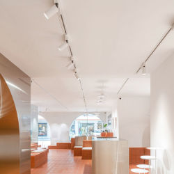 LED Spotlight luz vía Shop Home la mazorca de la pared de fondo de la luz de luz tenue