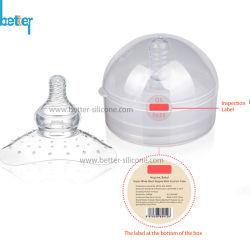 Escudo de Tetina de silicona tetina de la leche materna La lactancia materna protectores de cubierta de protección .