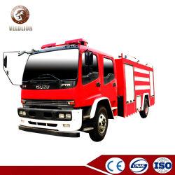 Japón Nuevo rescate Isuzu 1000 Galones Depósito de espuma 6000 litros Tanque de agua 6ton 8ton 1500 galones de camiones de bomberos camión de bomberos para la venta