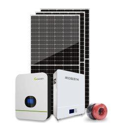 5000 Watt hybride vent solaire hybride de la grille du système d'énergie solaire 5kw