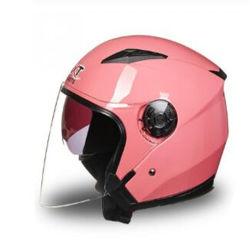 Casque de moto unisexe professionnel plein visage anti-UV casque de vélo électrique Visor