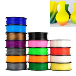 Una muestra gratis Multi-Colors impresora 3D de filamentos de 1,75 mm, el carrete de 1kg de material de impresión 3D de PLA de filamentos