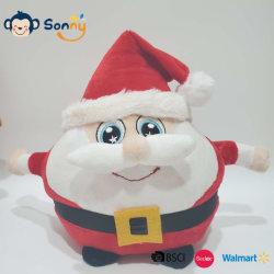 Bougies de jouet en peluche jusqu'Santa X'mcomme cadeau