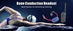 Entraîneur de natation Communicator nageur Coach à conduction osseuse de la Radio de nage synchronisée casque récepteur étanche pour la natation