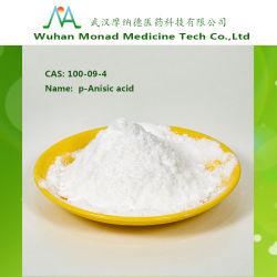 Fabricante de materia prima de la medicina P-ácido Anisic CAS# 100-09-4