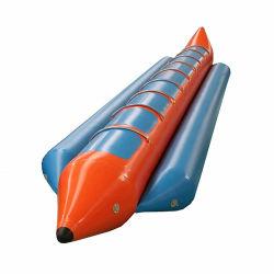 Parc aquatique de haute qualité des jouets pour la vente de bateau banane gonflable