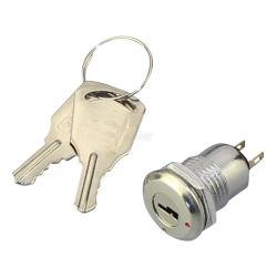 Ein-/aus-Schalter für die Metallverriegelung mit 12mm 2 Positionen